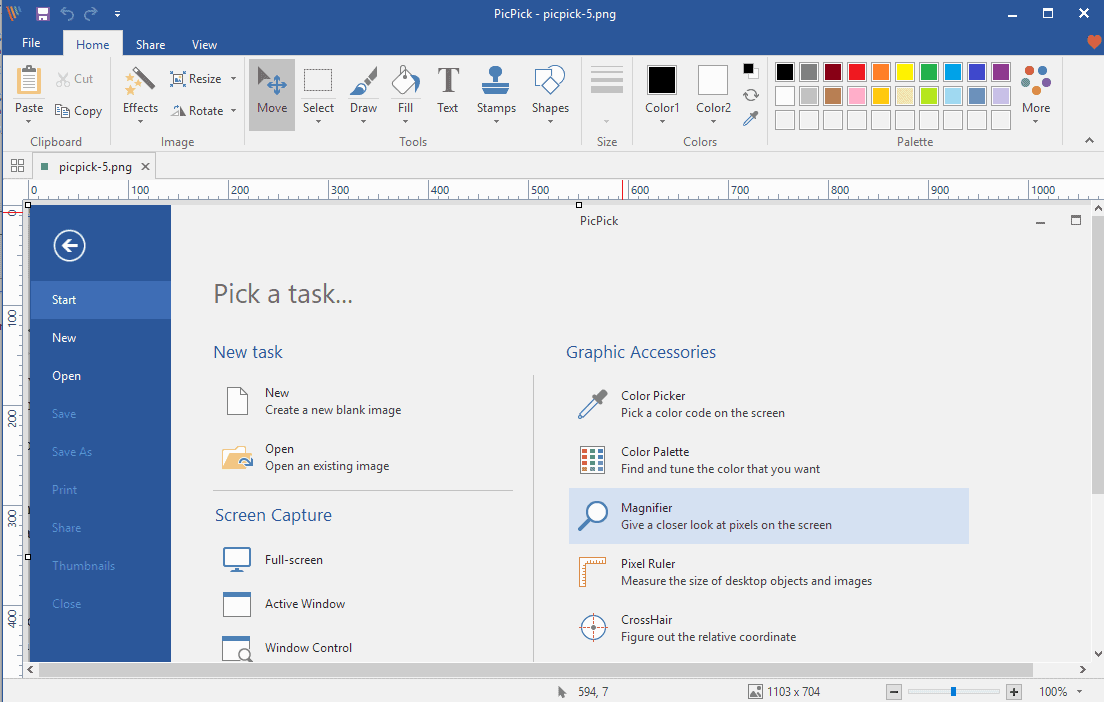 picpick screen capture