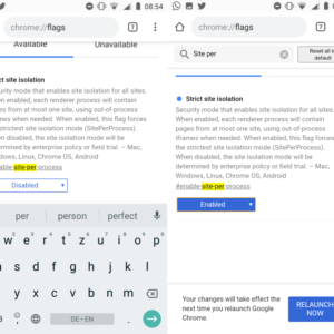 chrome android site isolation