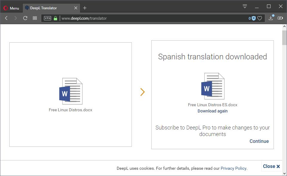 deepl translation