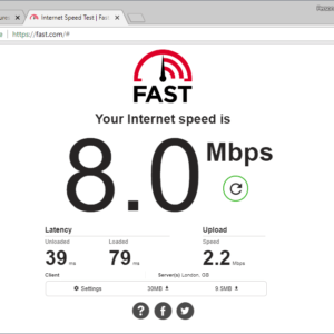 fast com internet speed test