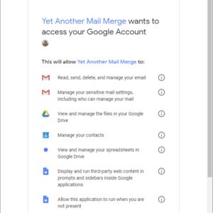 gmail access