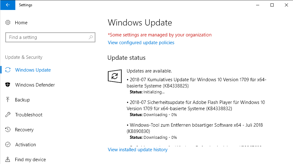microsoft windows security updates july 2018