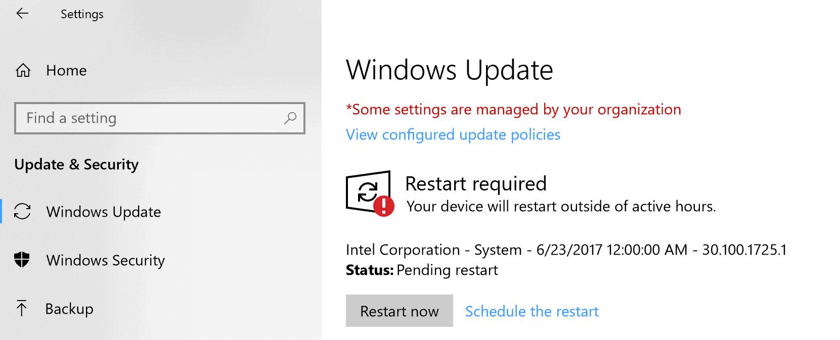 surface pro restart