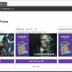 twitch prime july 2018