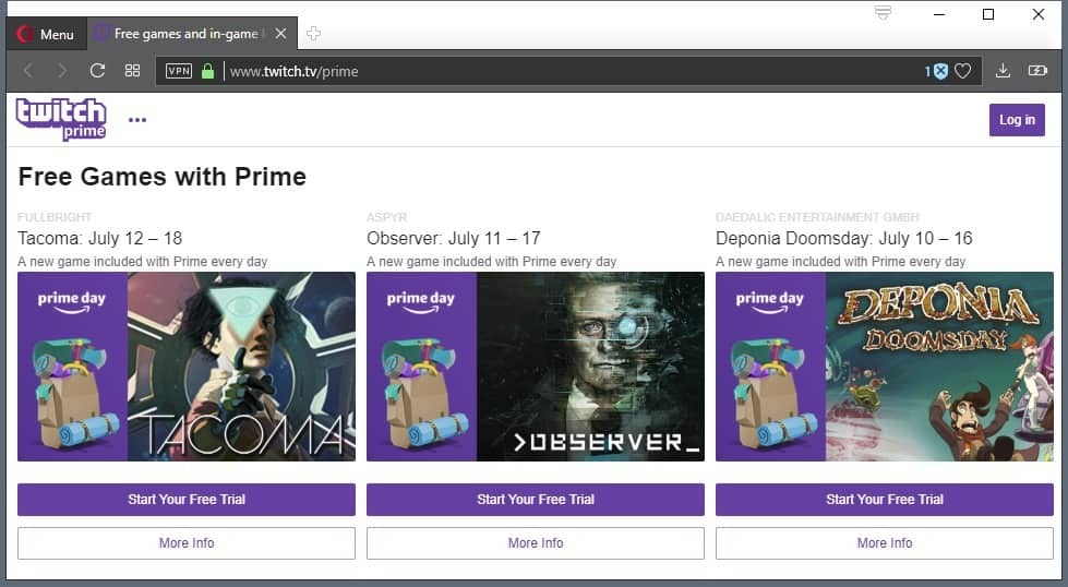 how to get twitch prime h1z1 2018