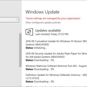 microsoft windows security updates august 2018